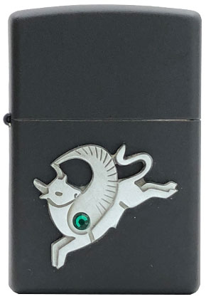 【ZIPPO】ジッポー:#20893 Winged Taurus Emblem/USAカタログ