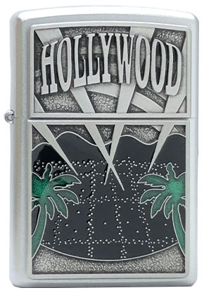 【ZIPPO】ジッポー:#21056/Hollywood Palm Trees USAカタログ