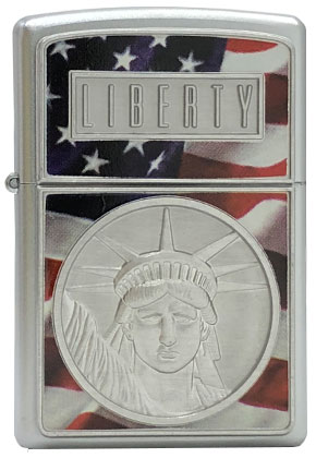 【ZIPPO】ジッポー:#21074/The Face Of Liverty USAカタログ