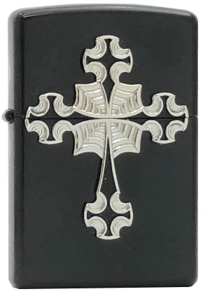 【ZIPPO】ジッポー:#21156/Gothic Cross Emblem USAカタログ