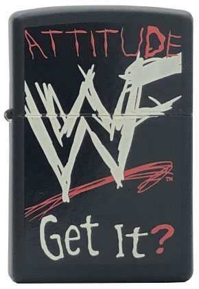 【ZIPPO】ジッポー:#218WWF-706/WWF Attitude Get It USAカタログ