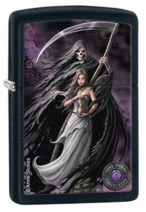 【ZIPPO】ジッポー:#28856/Anne Stokes,Death and Maiden USAカタログ