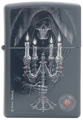 【ZIPPO】ジッポー:#28857/Anne Stokes,Death's Light USAカタログ